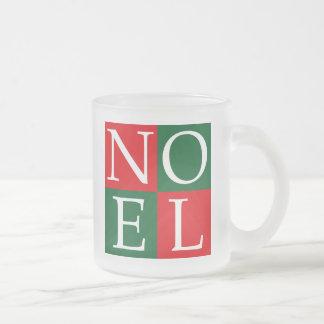 NOEL de Noël d'art de bruit Tasse À Café