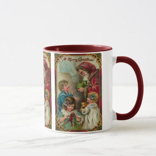 Noël de père - art vintage mug