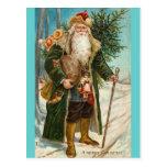 Noël de père carte postale