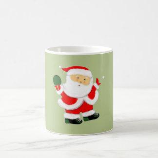 Noël de ping-pong mug