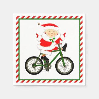 Noël de recyclage serviette jetable