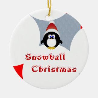 Noël de Snowball Ornements