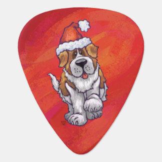 Noël de St Bernard sur le rouge Onglet De Guitare