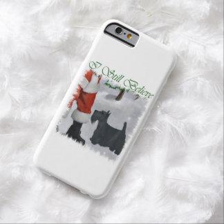 Noël de Terrier d'écossais Coque iPhone 6 Barely There