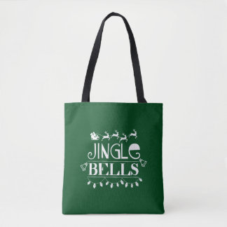 Noël de tintements du carillon tote bag