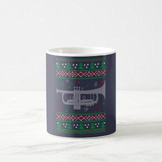 Noël de trompette mug