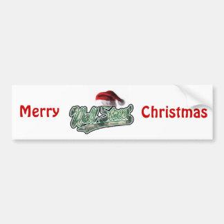 Noël de Wall Street Autocollants Pour Voiture