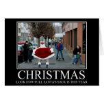 Noël drôle cartes de vœux
