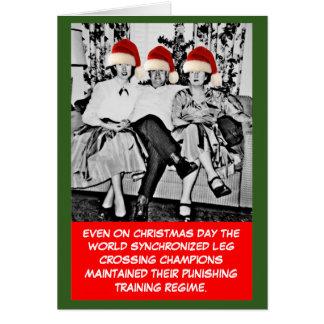 Noël drôle de photo cartes