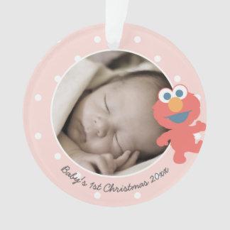 Noël du bébé d'Elmo | le premier - ajoutez votre