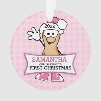 Noël du bébé (rose) d'arachide de Lil ęr