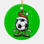 Noël du football ornement de noël