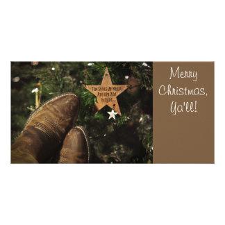 Noël du Texas Photocartes