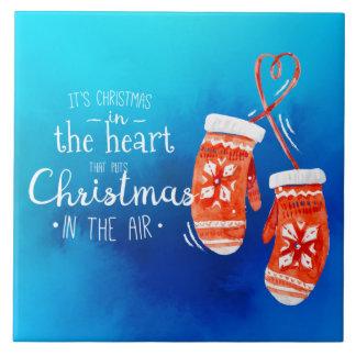 Noël élégant dans les carreaux de céramique du