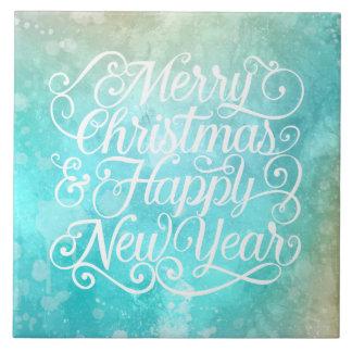 Noël élégant et nouveaux carreaux de céramique de