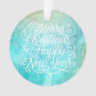 Noël élégant et ornement de la nouvelle année |