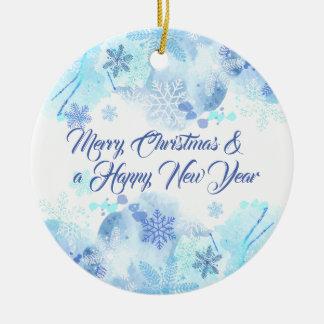Noël élégant et ornement de nouvelle année