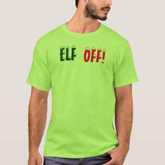Noël Elf fâché, ELF, T-shirt par : Closs