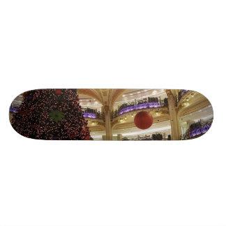Noël en planche à roulettes de Paris Skateoard Personnalisé