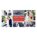 Noël épouse nouvellement le joyeux et marié photocarte personnalisée
