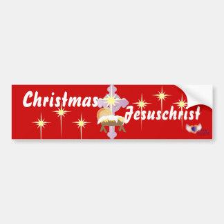 Noël est Jesuschrist-Personnaliser Autocollant De Voiture