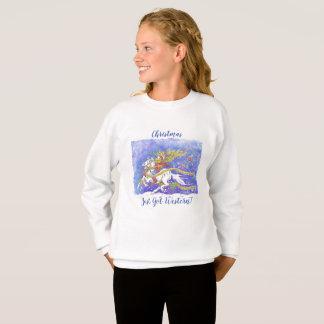 """Noël est juste devenu occidental !"" Le sweatshirt"