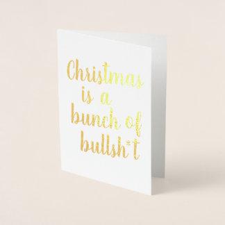 Noël est Taureau - carte typographique