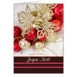 Noël français de Joyeux Noël - babioles Cartes De Vœux