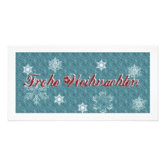 Noël heureux à l'exclusion de la carte de Noël Photocartes Personnalisées