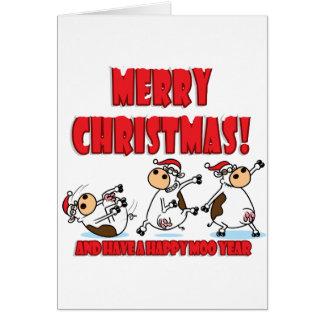 Noël heureux Breakdancing Carte De Vœux