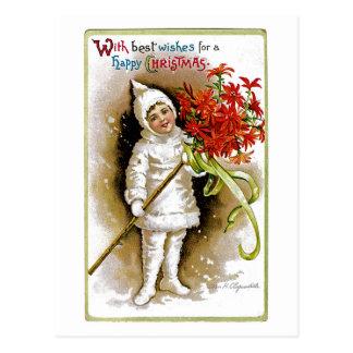 Noël heureux cartes postales