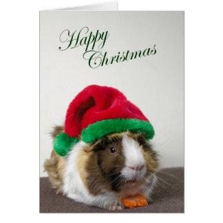 Noël heureux de délabré carte de vœux