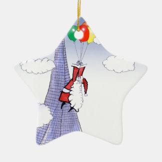 Noël heureux de ShardArt par Fernandes élégant Ornement Étoile En Céramique