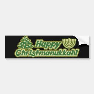 Noël heureux hanoukka Kwanzaa Autocollant Pour Voiture