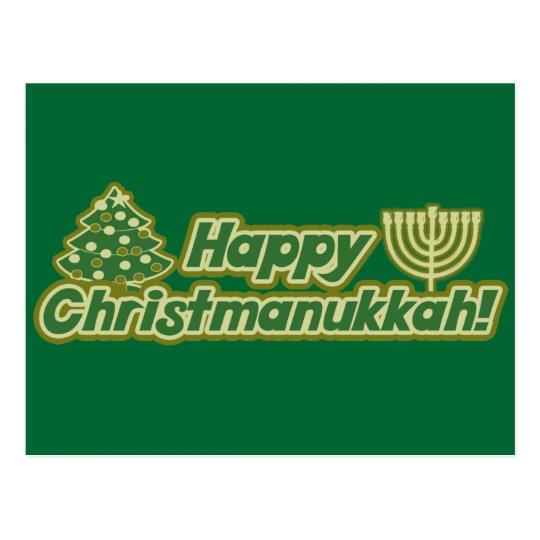 Noël heureux hanoukka Kwanzaa Cartes Postales