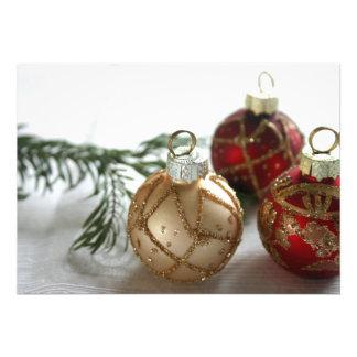 Noël Faire-part Personnalisé