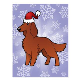 Noël irlandais/anglais/poseur de Gordon/R&W Carte Postale