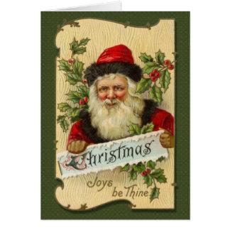 Noël, joies soit Thine Carte De Vœux