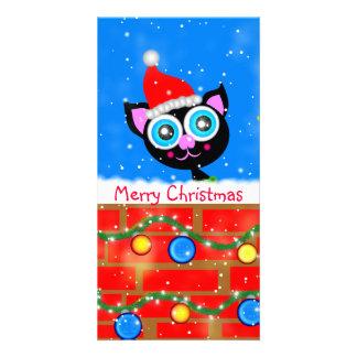Noël Kitty a conçu la marque-page Modèle Pour Photocarte