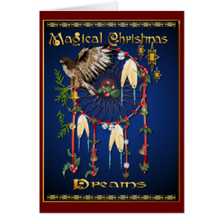 Noël magique rêve la carte