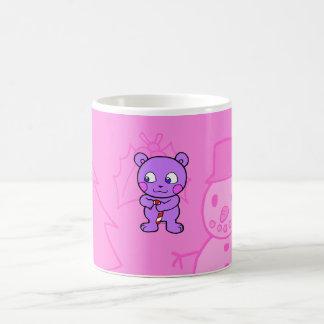 Noël mignon d'ours mugs à café