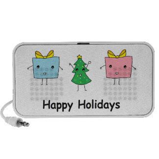 Noël mignon haut-parleur iPod