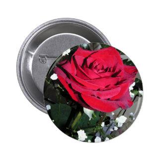 Noël nuptiale de partie de vacances Romance de ros Badges Avec Agrafe