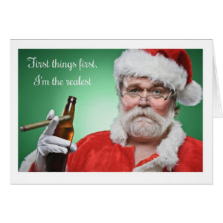 Noël - OG Père Noël Carte De Vœux