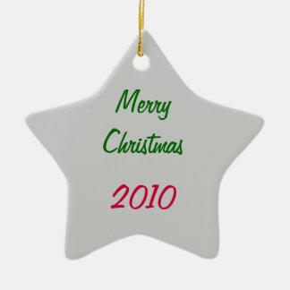 Noël Ornement Étoile En Céramique