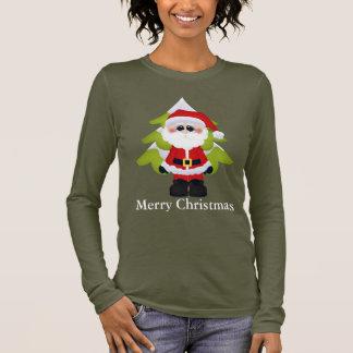 Noël Père Noël et le T-shirt des femmes d'arbre