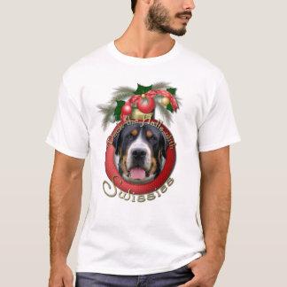 Noël - plate-forme les halls - Swissies T-shirt