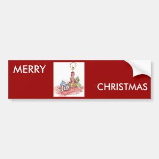 Noël - produits multiples adhésifs pour voiture