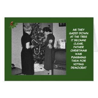 Noël républicain drôle carte de vœux