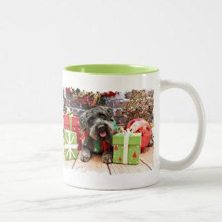 Noël - Schnoodle - Dexter Mug Bicolore